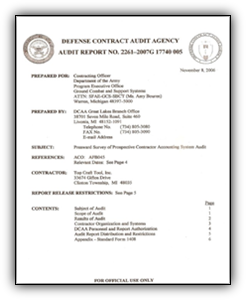 Defense Contract Audit